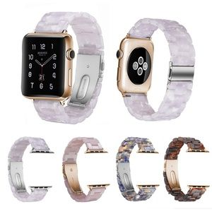 Resin Sport Strap for Apple iWatch Bands 38/42mm